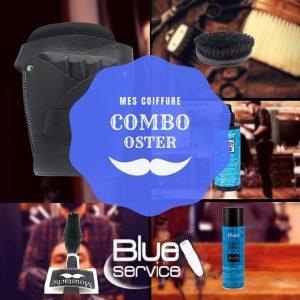 Combo OSTER: 5 en 1 + aceite + cinturón organizador + quita pelo + cepillo de barba